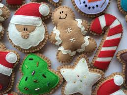 felt cookie tree ornaments ornaments