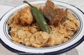 cuisine alg駻ienne traditionnelle trida plat traditionnel algérien blogs de cuisine