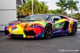 the lamborghini car supercar top 10 weirdest paintjobs