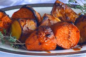 molasses roasted yams and sweet potatoes medley pham fatale