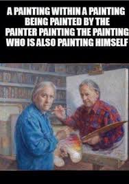Painter Meme - funny memes painting in a painting funny memes