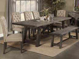 Rustic Dining Room Table With Bench Rustic Dining Room Sets Amazing Table Modern For Tables Uk With