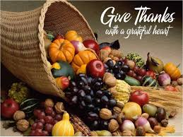 just one more thing in everything give thanks