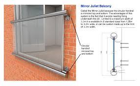 Standard Handrail Height Uk Juliet Balcony Glass Juliette Balconies Balcony Systems