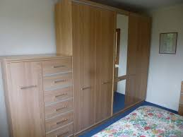 Light Beech Effect Complete Bedroom Suite Of Wardrobes And - Alston bedroom furniture