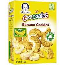 banana halloween bag gerber graduates banana cookies 5 oz walmart com