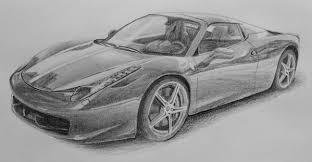 how to draw a car in pencil u2014 online art lessons