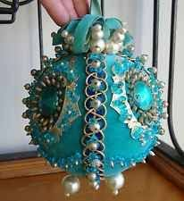 182 best ornaments satin balls blues images on beaded