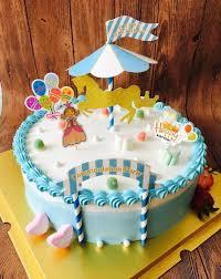 aliexpress com buy new merry go round happy birthday party cake