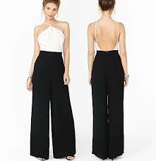 overall jumpsuit 12 2014 fashion backless jumpsuit brand overall