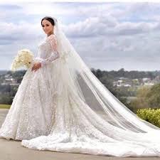 christian wedding gowns discount 2017 new newborns lace sleeve wedding dress muslim