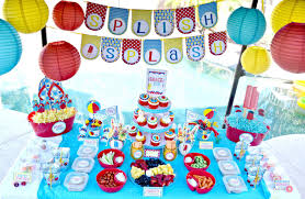 Home Party Decoration Kids Pool Party Decorations Home Party Ideas