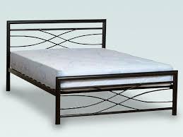 Black Metal Bed Frame Kelly Double Black Metal Bed Frame