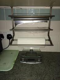 How To Mount Kitchen Wall Cabinets Aluminum Foil Plastic Bags U0026 Kitchen Wrap Storage U0026 Organization