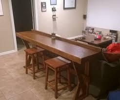 Diy Counter Height Table Lovely Diy High Top Bar Table 95 On Simple Home Decoration Ideas