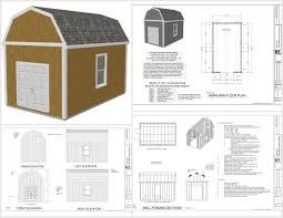 barn plans designs 12 x 16 saltbox style storage shed project plans storage designs