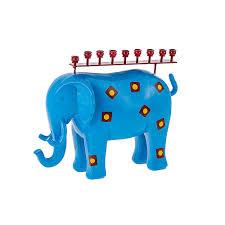 elephant menorah hanukkah menorahs metal elephant hanukkah menorah