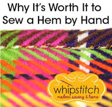 How To Do Blind Hem Stitch By Hand Slow Sewing Benefits Of Sewing A Hem By Hand Sew Mama Sew