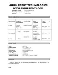 Manual Testing Resume Samples by Qspiders Manual Testing Resumegreat Job Resumes Great Job