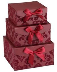 bows for gift boxes 3pcs swirl nesting gift boxes magnetic closure box w
