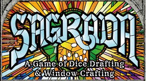 stained glass window sagrada a game of dice drafting and window crafting by ben