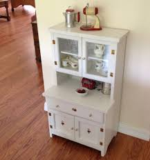 Kitchen Hutch Furniture Vintage Child S Play Kitchen Cupboard Hutch Wood Step Back