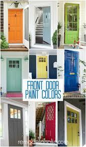Paint For Doors Exterior Furniture Remodelaholic 50 Beautiful Doors Front Door Paint