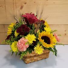 country harvest basket savilles country florist
