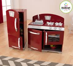 kidkraft island kitchen awesome retro kitchen red taste