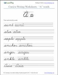 best 25 cursive writing worksheets ideas on pinterest writing