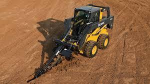 augers u0026 trenchers construction attachments john deere us