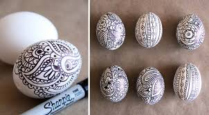 Decorating Easter Eggs With Markers by 5 Diy Easter Eggs From Pinterest