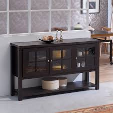 furniture of america wilbur contemporary buffet table by furniture