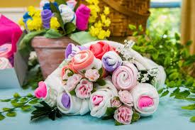 diy bouquet how to diy onesie sock cupcakes bouquet hallmark channel
