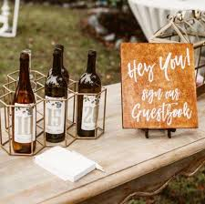 wine bottle guestbook create archives neverbeenso