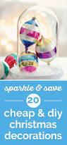 sparkle save cheap diy christmas decorations thegoodstuff idolza