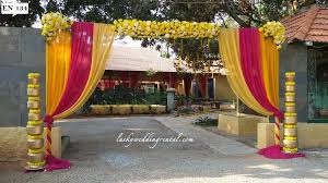 Wedding Rental Decorations Entrance Decorations On Rent Lucky Wedding Rental