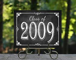 printable chalkboard graduation decoration funny graduation