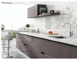 Modern Kitchen Backsplash Arabesque Wall Tiles - Modern kitchen backsplash