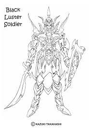 coloriages coloriage de yu gi oh black luster soldier 1 fr