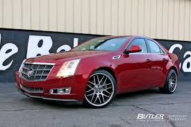 cadillac cts tire size cadillac cts with 20in mrr rw06 wheels exclusively from butler
