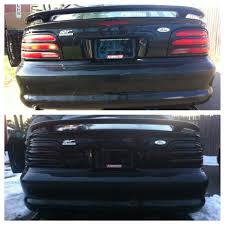 1994 mustang tail lights your fav 50 mod or accessory ford mustang forum