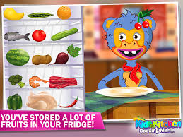 kids kitchen cooking mania android apps on google play