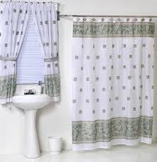 Dc Shower Curtain Matching Shower Curtains And Blinds With Window Treatments Black