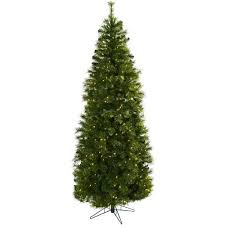 Decorative Trees With Lights Home Decorative 7 5 Inch Cashmere Slim Christmas Tree W Clear