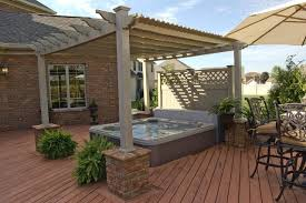 White Vinyl Pergola by A Perfect Pair Of Pergolas For Homeowners In Columbus Oh