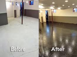 absolutely smart epoxy basement floor covering fabians flooring