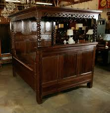 Heaven Antiques And Custom Furniture Los Angeles Ca Antique Carved Oak Tester Bed For Sale At 1stdibs