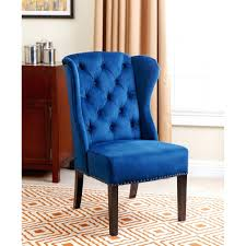 high wingback dining room chairs tufted leather furniture