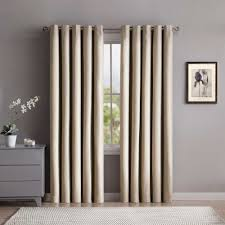 eyelet curtains in a modern contemporary style spotlight